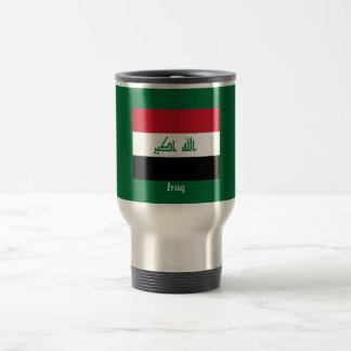 Flag of Iraq Travel Mug