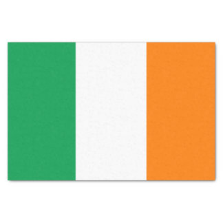 "Flag of Ireland 10"" x 15"" Tissue Paper"