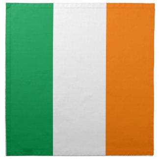 Flag of Ireland American MoJo Cloth Napkins (set o