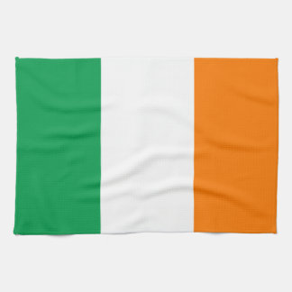 "Flag of Ireland American MoJo Kitchen Towel 16"" x"