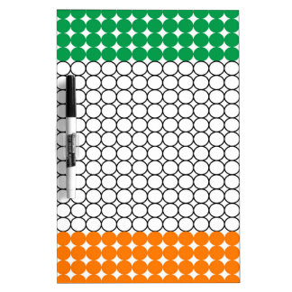 Flag of Ireland Dry Erase White Board