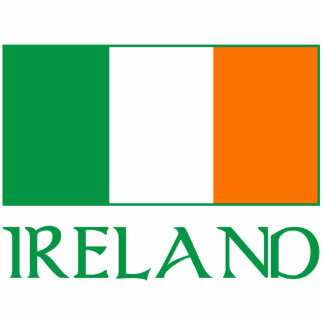Flag of Ireland Acrylic Cut Outs