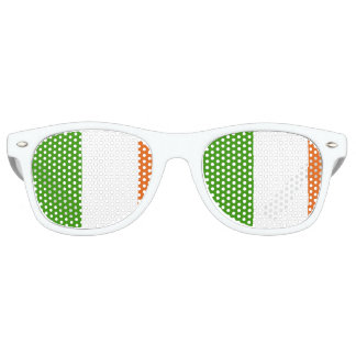 Flag of Ireland Retro Sunglasses