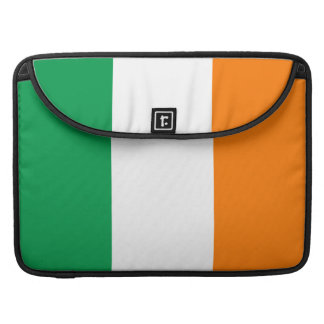 "Flag of Ireland Rickshaw Macbook Pro 15""  Flap Sle Sleeves For MacBooks"