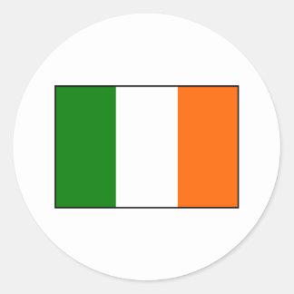 Flag of Ireland Round Sticker