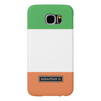 Flag of Ireland Samsung Galaxy S6 Cases