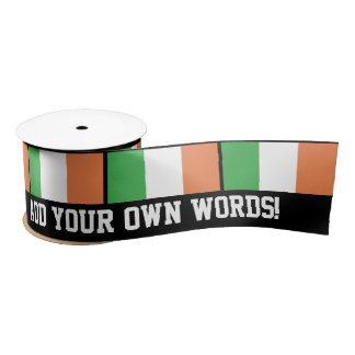 Flag of Ireland Satin Ribbon