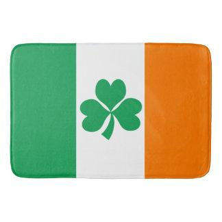 Flag of Ireland Shamrock Bath Mat