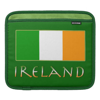 Flag of Ireland Sleeves For iPads