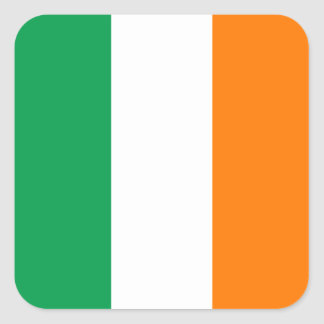 Flag of Ireland Square Sticker