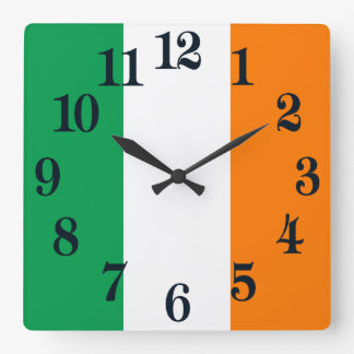 Flag of Ireland Wallclock