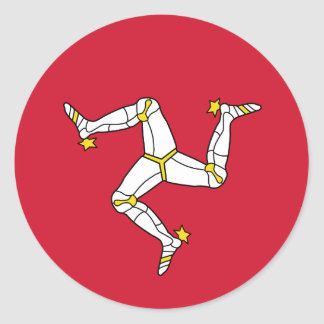 Flag of  Isle of Man Sticker