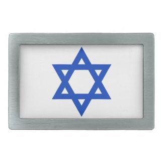 Flag of Israel - דגל ישראל - ישראלדיקע פאן Belt Buckle