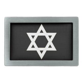 Flag of Israel - דגל ישראל - ישראלדיקע פאן Belt Buckles