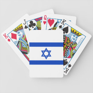Flag of Israel - דגל ישראל - ישראלדיקע פאן Bicycle Playing Cards