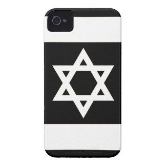 Flag of Israel - דגל ישראל - ישראלדיקע פאן Case-Mate iPhone 4 Cases