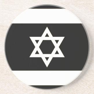 Flag of Israel - דגל ישראל - ישראלדיקע פאן Coaster