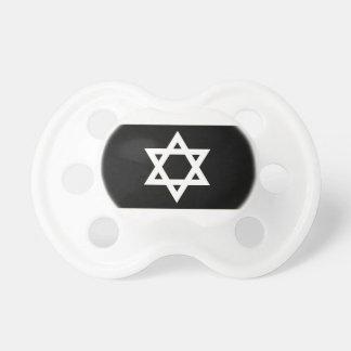 Flag of Israel - דגל ישראל - ישראלדיקע פאן Pacifier