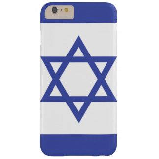 Flag of Israel Barely There iPhone 6 Plus Case