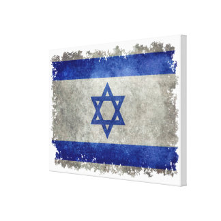 Flag of Israel Canvas Print