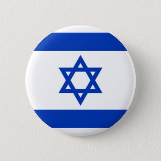 Flag of Israel on Pin / Button Badge