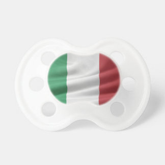 Flag of Italy Baby Pacifier