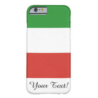 Flag of Italy Barely There iPhone 6 Case