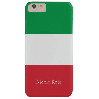 Flag of Italy Barely There iPhone 6 Plus Case