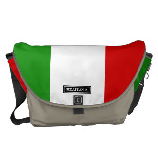Flag of Italy Courier Bag