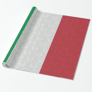 Flag of Italy Damask Pattern