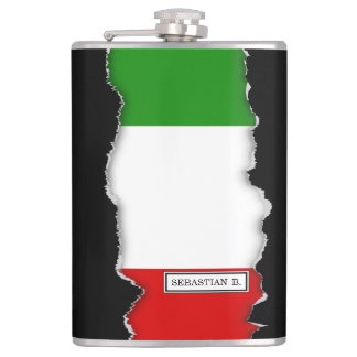 Flag of Italy Flasks