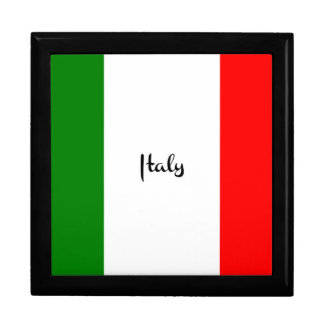 Flag of Italy Gift Box