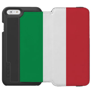 Flag of Italy Incipio Watson™ iPhone 6 Wallet Case