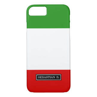 Flag of Italy iPhone 7 Case