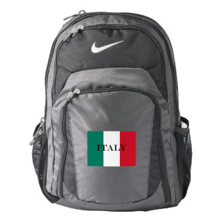 Flag of Italy Italia Italian Backpack
