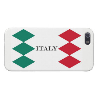 Flag of Italy Italia Italian iPhone 5 Cover