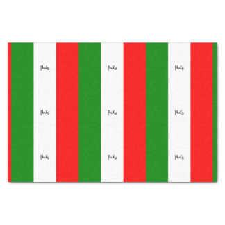 Flag of Italy, labeled Tissue Paper