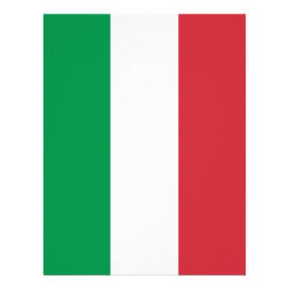 Flag of Italy Letterhead Design