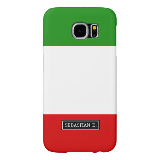 Flag of Italy Samsung Galaxy S6 Cases