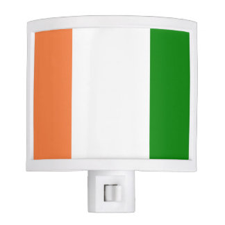 Flag of Ivory Coast Night Light