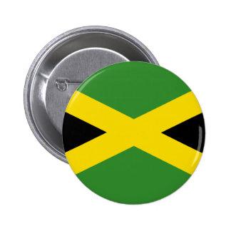 Flag of Jamaica 2 Inch Round Button