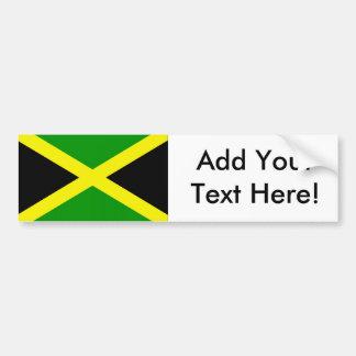 Flag of Jamaica Bumper Sticker
