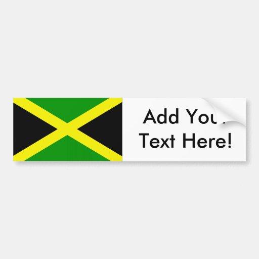 Flag of Jamaica Bumper Stickers
