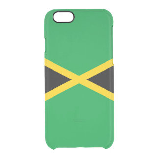 Flag of Jamaica Clear iPhone Case