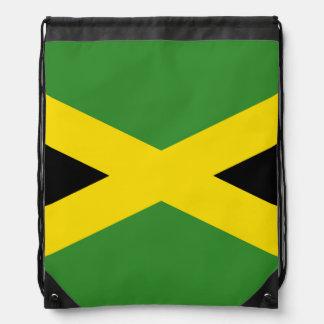 Flag of Jamaica Drawstring Backpack