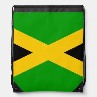 Flag of Jamaica Drawstring Bags