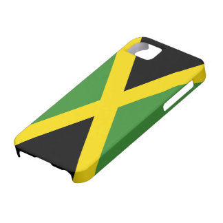 Flag of Jamaica iPhone 5 Case-Mate Barely There