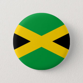 Flag of Jamaica - Jamaican Flag 2 Inch Round Button