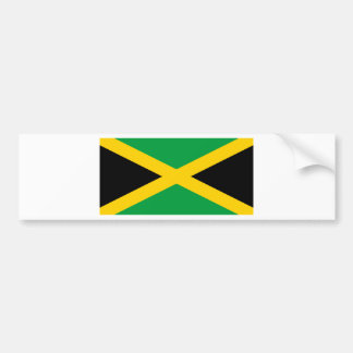 Flag of Jamaica - Jamaican Flag Bumper Sticker