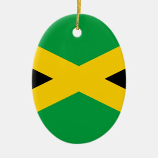 Flag of Jamaica - Jamaican Flag Ceramic Ornament
